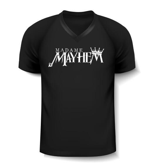 Madame Mayhem V-Neck T-Shirt