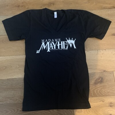 Madame Mayhem V-Neck Unisex Shirt