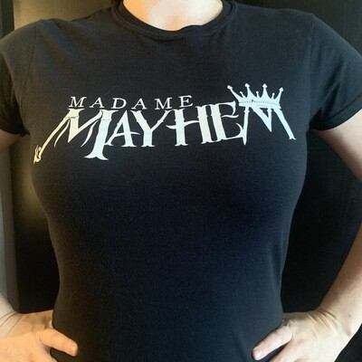 Madame Mayhem Logo Ladies Tee