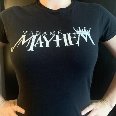 Madame Mayhem Logo Ladies Tee
