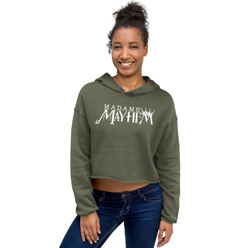 Madame Mayhem Women's Crop Hoodie