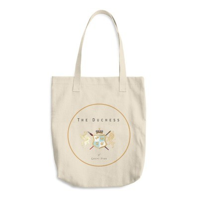 Duchess Seal Cotton Tote Bag