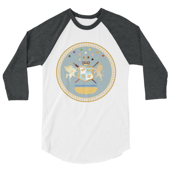 Duchess of Grant Park Seal 3/4 sleeve raglan shirt