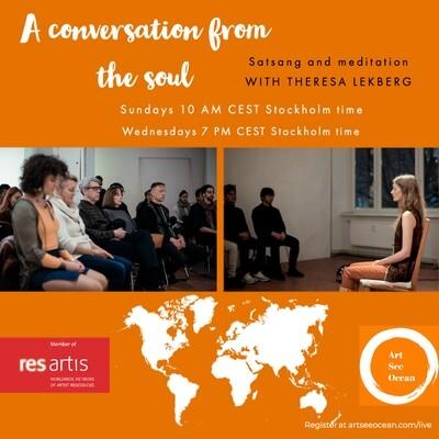 Satsang & guided meditation with Theresa Lekberg