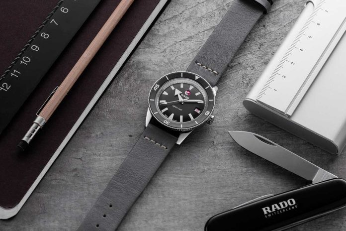 "Часы Rado Captain  Cook  ""Ghost  Captain"" Special Edition"