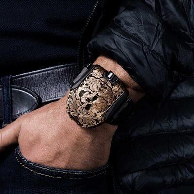 Часы Urwerk T8 Scull Special Edition