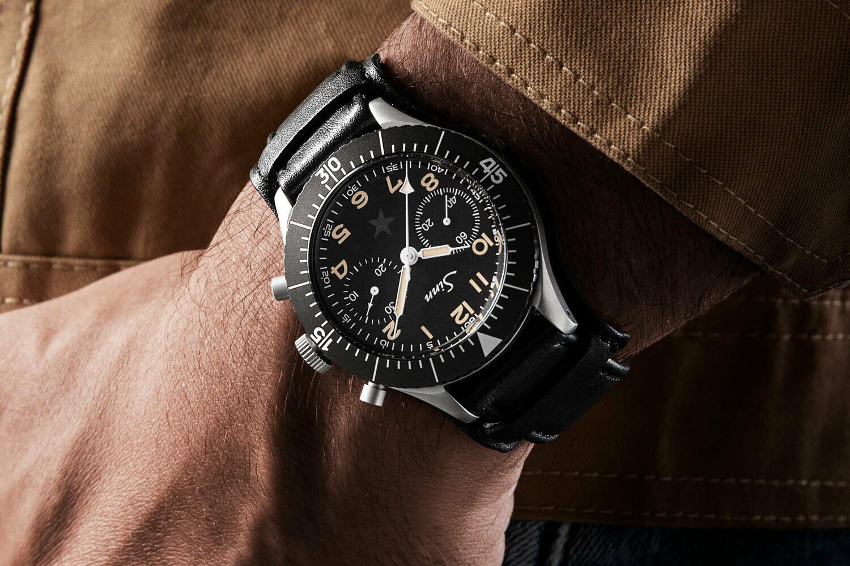 "Часы Sinn Bundeswehr ""Dark Star"" Special Edition"