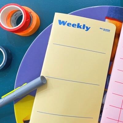 SO SLUSH Weekly Planner