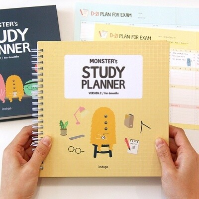 Monster Study Planner Ver.2 (for 6 months)