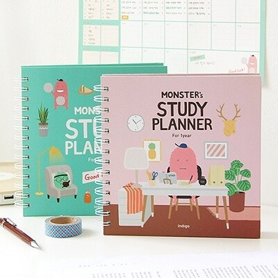 Monster Study Planner (for 1 year)