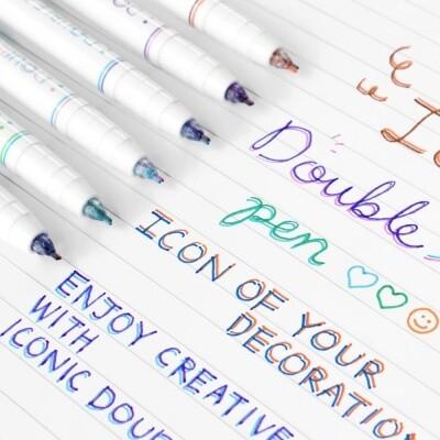 Iconic Double Line Pen