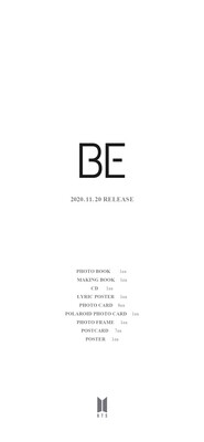 BTS - BE [Limited Edition]