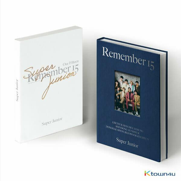 SUPER JUNIOR 15th ANNIVERSARY PHOTO BOOK [REMEMBER 15]