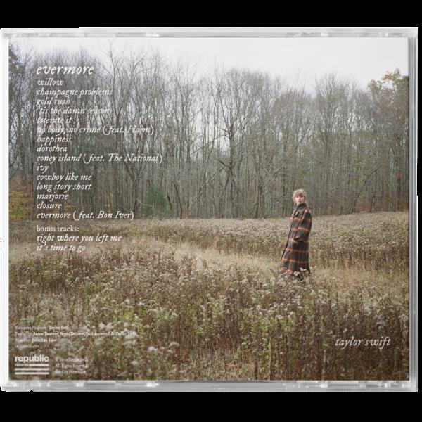 evermore album deluxe edition CD (clean version)