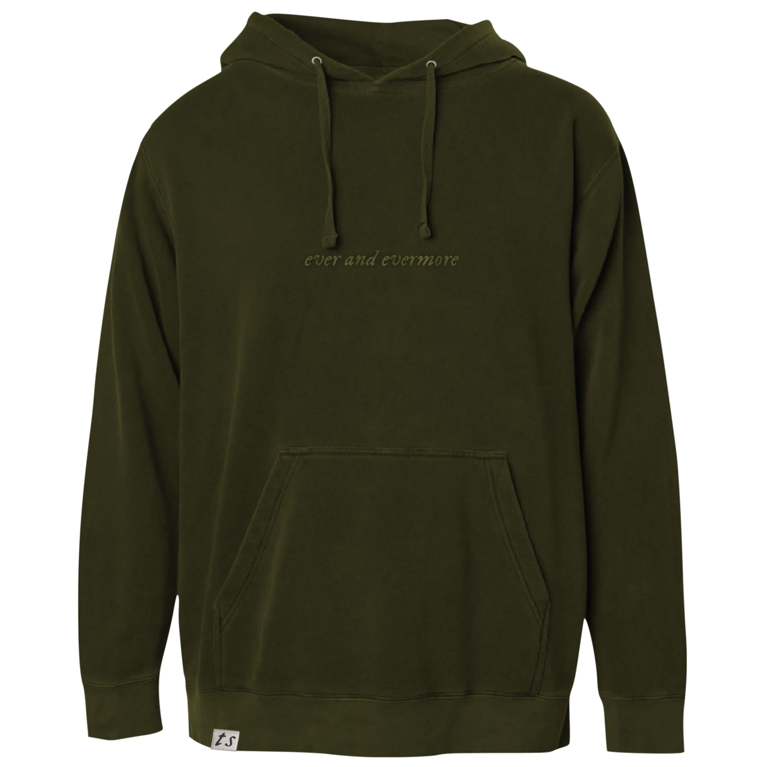 """the """"ever and evermore"""" hoodie"""
