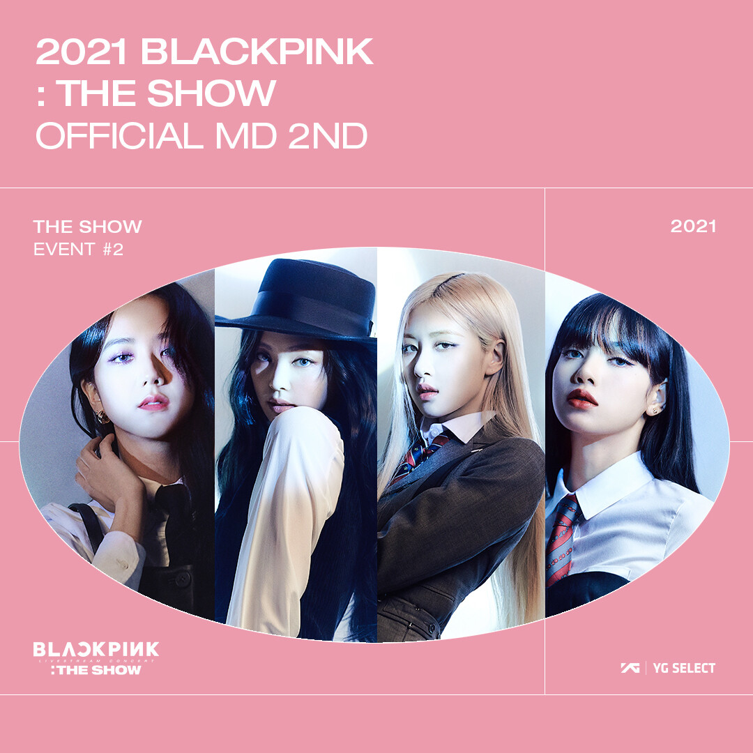 BLACKPINK The Show 2nd Official MD