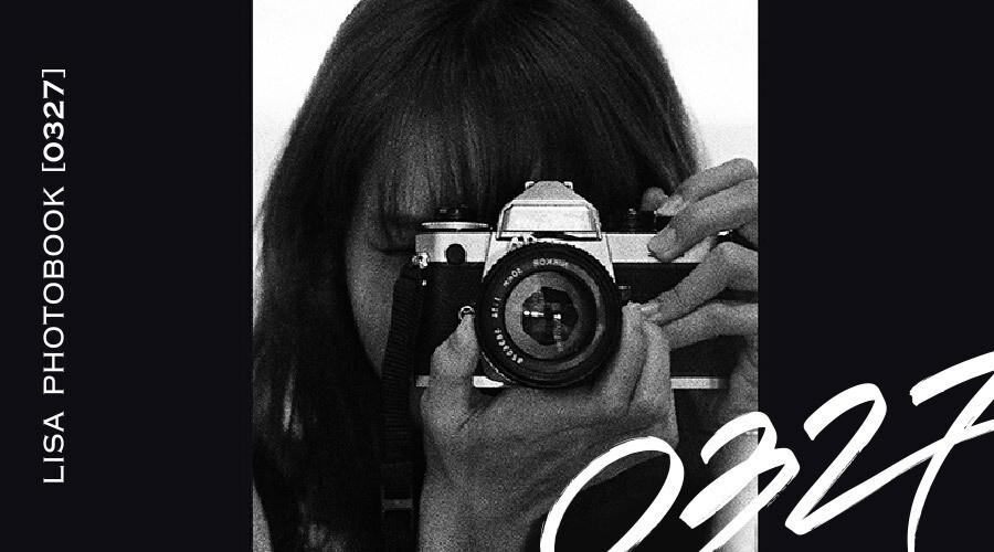 BLACKPINK LISA PHOTOBOOK [0327]