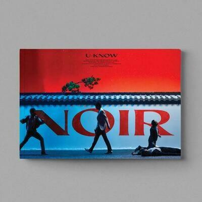 TVXQ U-KNOW - Noir [Thank U (Uncut ver.)] / NOIR LP ver.