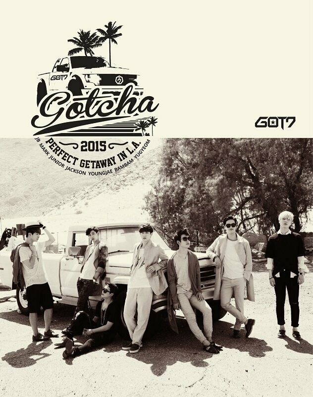 GOT7 - GOTCHA 2015 Perfect Getaway in L.A [2nd Photobook]