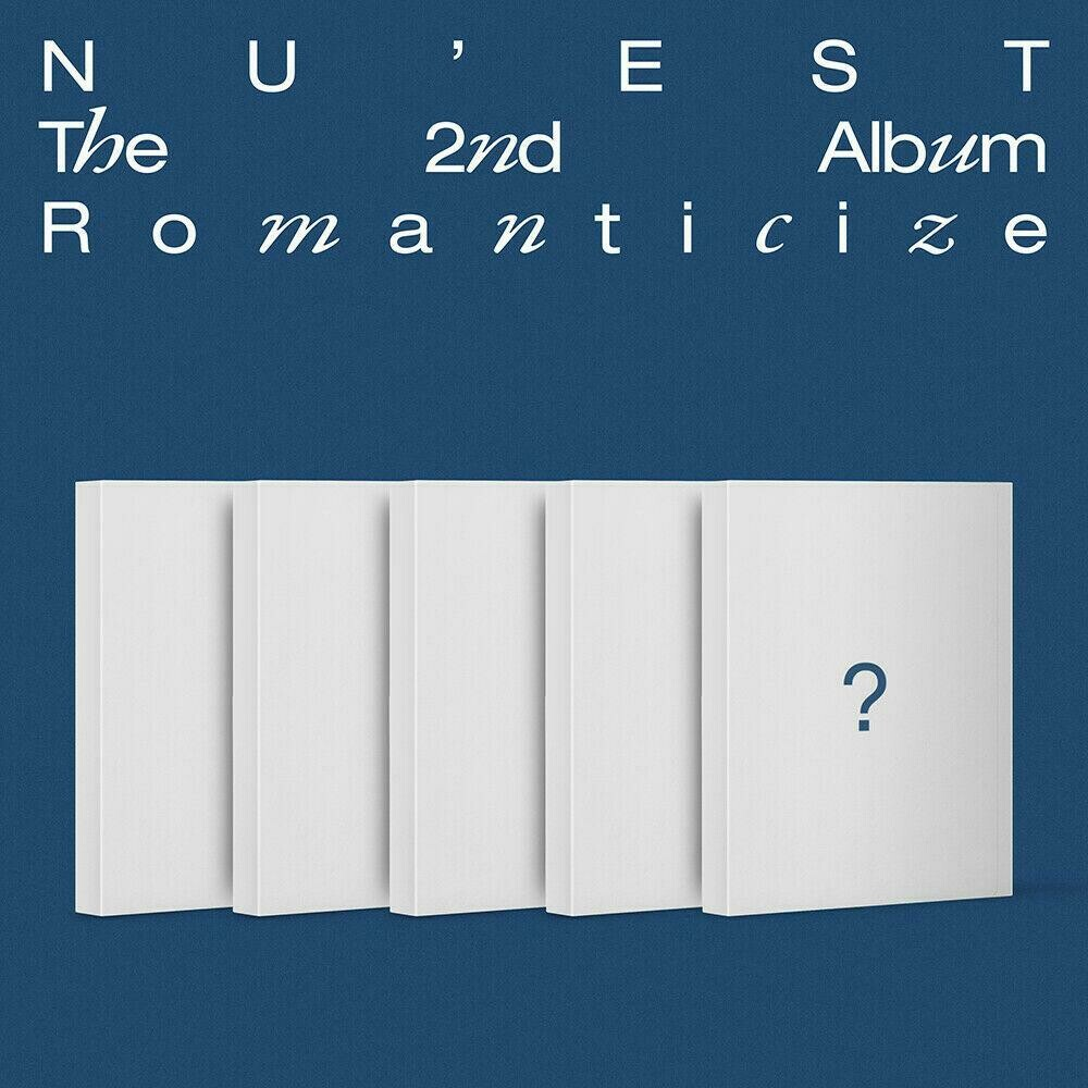 NU'EST - <The 2nd Album> Romanticize [RANDOM]