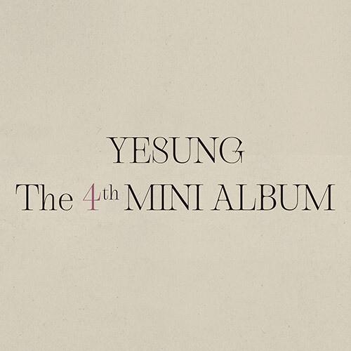 Super Junior's YESUNG - 4th Mini Album