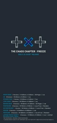 TXT - THE CHAOS CHAPTER: FREEZE [Random]