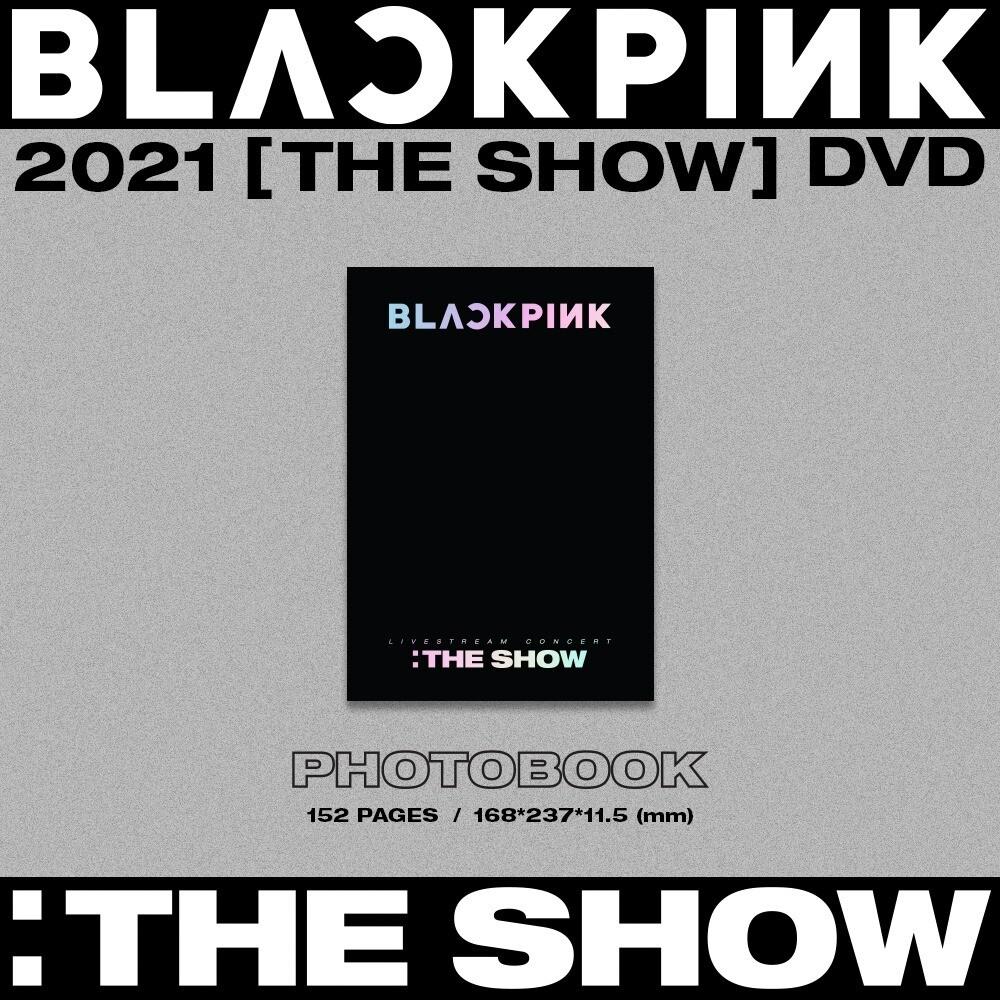 TINGI - BLACKPINK 2021 [THE SHOW] DVD
