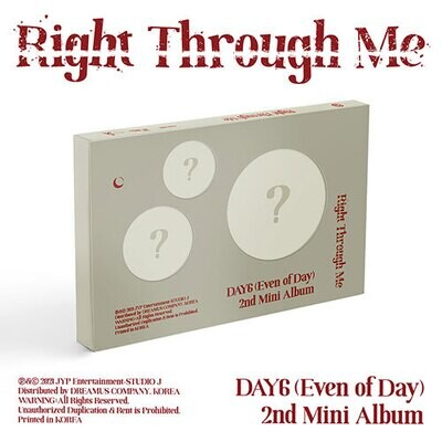 DAY6: Even of Day - Right Through Me