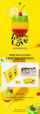 TWICE - TWICE MONOGRAPH Taste of Love