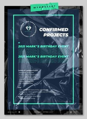 2021 Mark's BIRTHDAY FUNDRAISING KIT SALE by journeyofMT