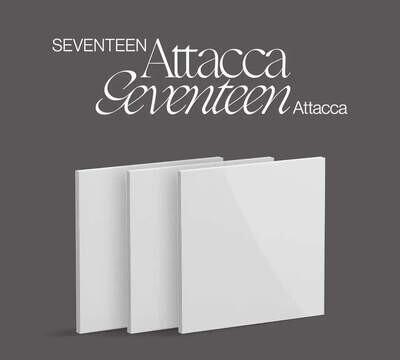 """SEVENTEEN - 9th Mini Album - """"Attacca"""""""