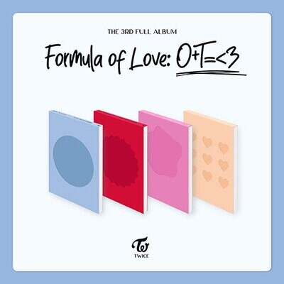 TWICE - Formula of Love: O+T=<3