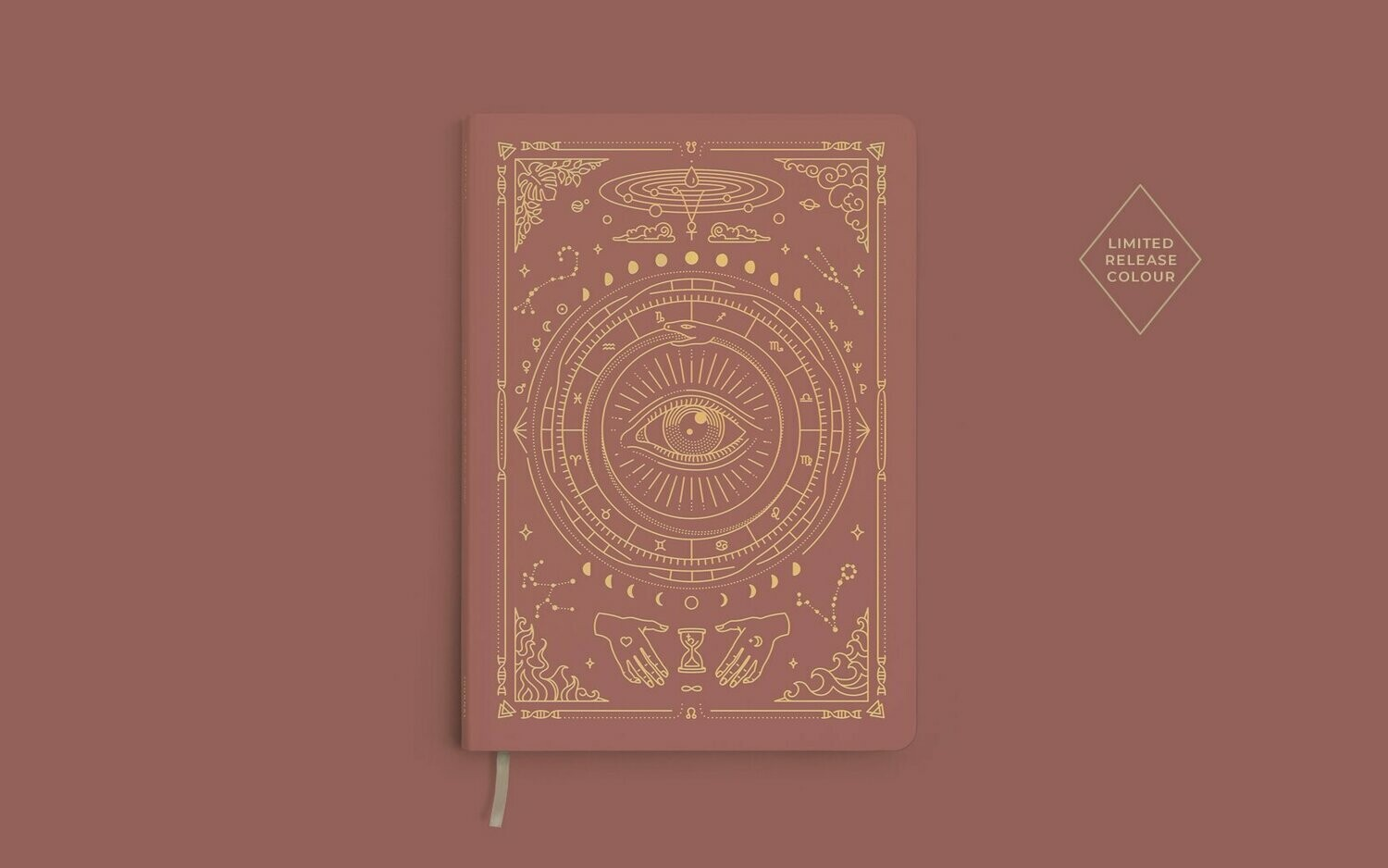 Magic of I. Vegan Leather Journal - UNLINED
