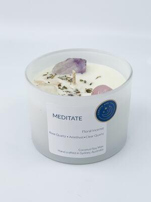 Meditate Candle - XLarge