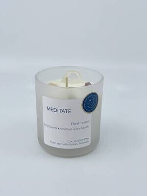 Meditate Candle - Medium