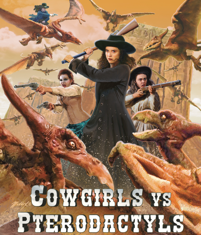Cowgirls vs Pterodactyls - Bluray Release