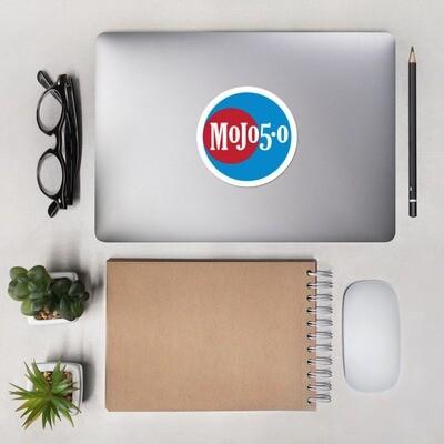 Mojo 5-0 Radio Logo Bubble-free decals