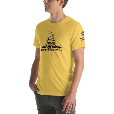 Mojo 5-0 Radio Gadsden Flag Short-Sleeve Unisex T-Shirt