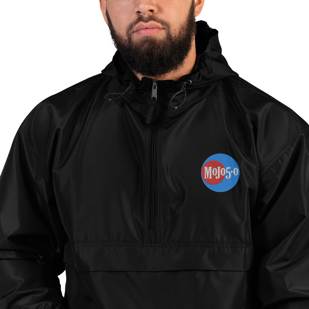 Mojo 5-0 Radio Embroidered Logo - Champion Packable Jacket