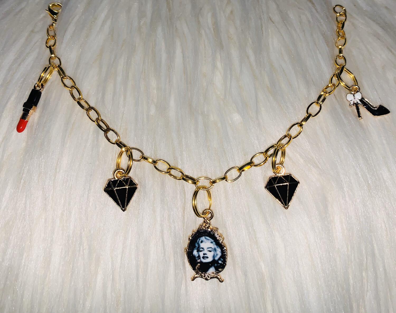 Marilyn Monroe Charm Bracelet