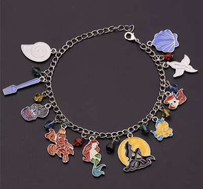Under The Sea Mermaid Charm Bracelet