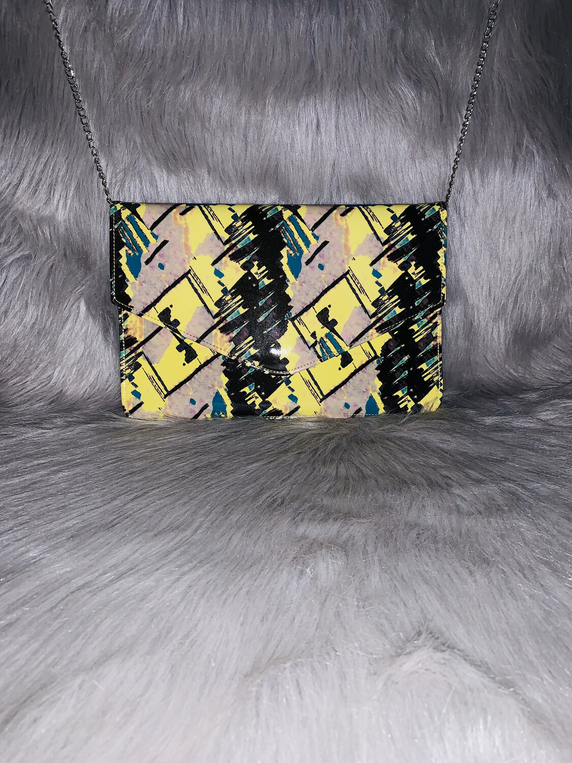 """Hawaiian Paradise"" Oversized Clutch Purse"