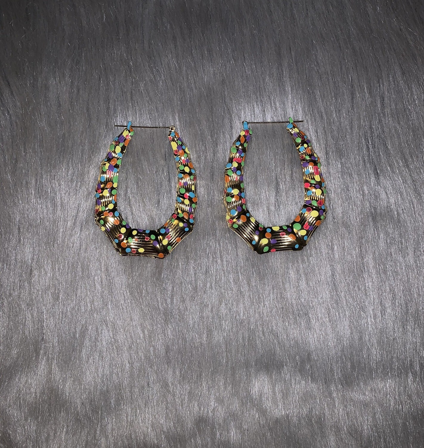 Fruity Pebble Gold Oval  Bamboos (LARGE)
