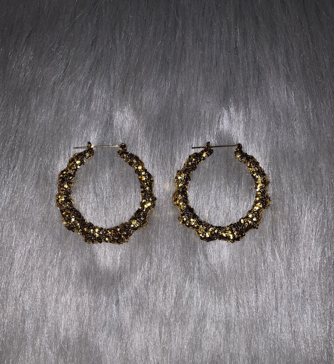 Gold Glitter Classic Bamboos (SMALL)