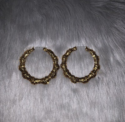 Gold Glitter Classic Bamboos (LARGE)