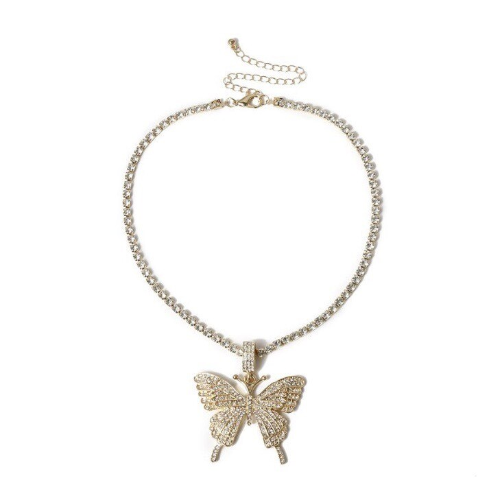 """""""Butterfly Dream"""" Necklace (GOLD)"""