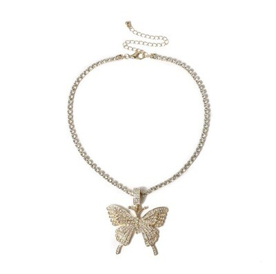 """Butterfly Dream"" Necklace (GOLD)"
