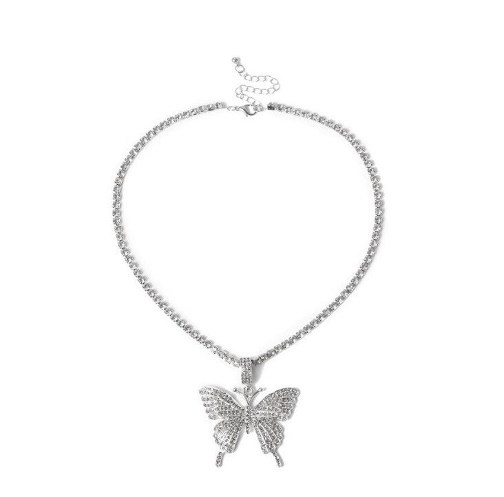 """""""Butterfly Dream"""" Necklace (SILVER)"""