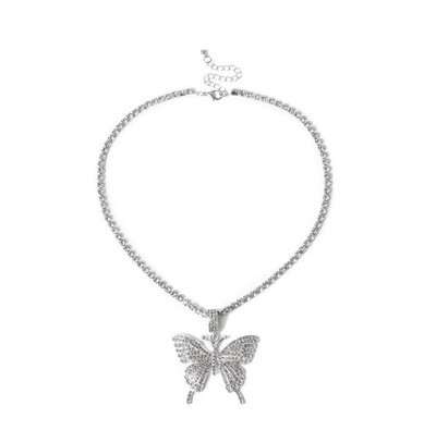"""Butterfly Dream"" Necklace (SILVER)"