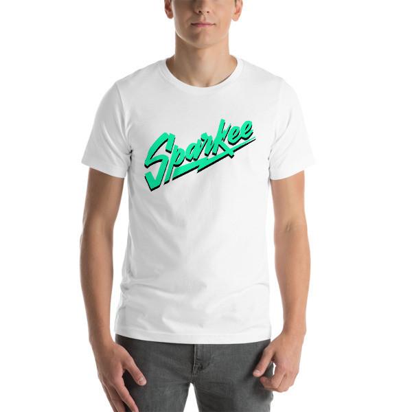 Sparkee Tee (green logo)